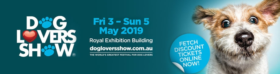 Dog Lovers Show Melbourne 2019 920x245